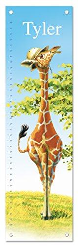 Giraffe Height Chart - Personalized Growth Chart Ruler Giraffe Nursery Décor