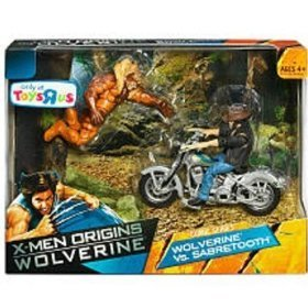WOLVERINE vs SABERTOOTH TOYS R US EXCLUSIVE MIB