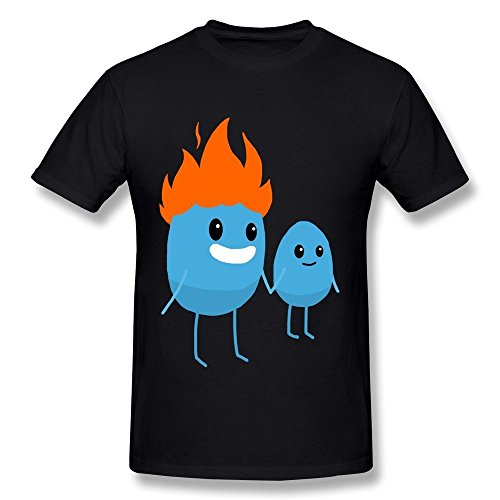 Kazzar Men's Dumb Ways To Die Father And Son T Shirt XL