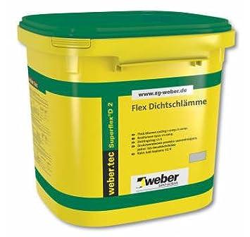Weber Kit Etancheite Sous Carrelage 2m Weber Tec Superflex 5kg