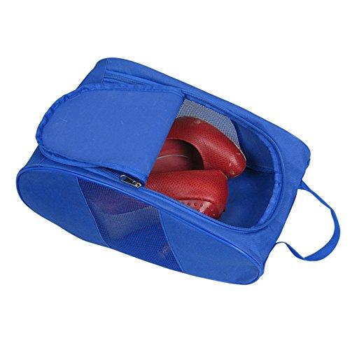 Portable Oxford Travel Shoe Tote Bag, Waterproof Shoe Packing Storage Gym Organizer by Ailaka (Image #3)