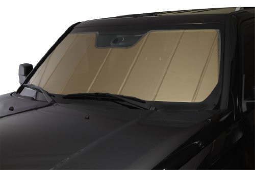 Covercraft UVS100 - Series Heat Shield Custom Fit Windshield Sunshade for Select Jaguar XF Models  - Laminate Material (Gold) by Covercraft