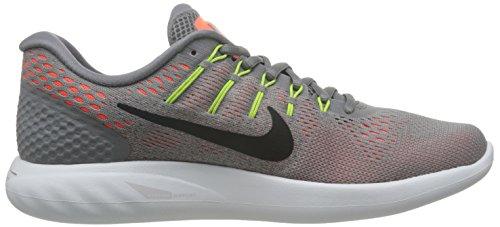 Nike Herren Lunarglide 8 Laufschuhe Mehrfarbig (Dust/hyper Orange/electrolime/black)