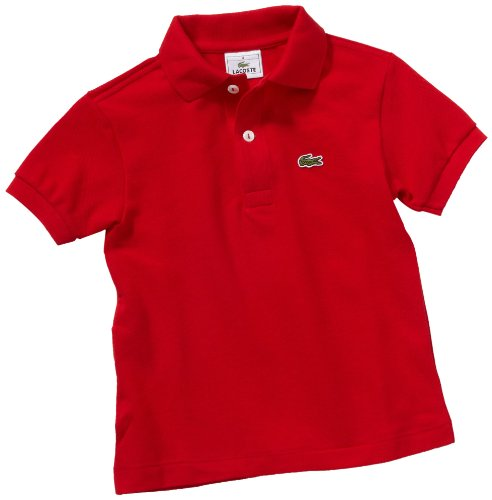 Rot 240 Boy Red Polo Lacoste Cm 128 tHw8Iwq