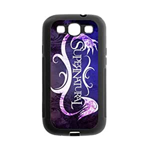 FEEL.Q- Custom Rubber Back Fits Cover Case for Samsung Galaxy S3 S III I9300 - Supernatural