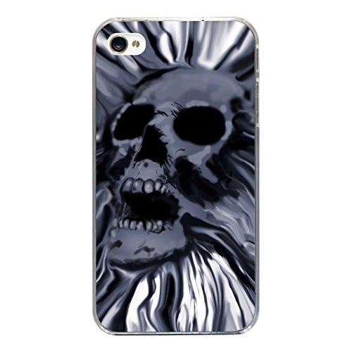"""Disagu Design Case Coque pour Apple iPhone 4s Housse etui coque pochette """"Totenschädel"""""""