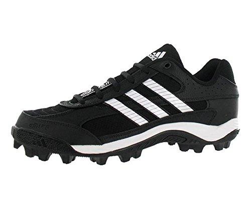 adidas Men's Corner Blitz 7 MD Low,Black/Runwht/Metsil,12.5 M
