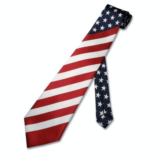 Beautiful American Flag Necktie
