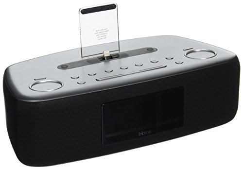 Price comparison product image iHome iDL44 Desktop Clock Radio - Stereo - Apple Dock Interface - Proprietary Interface iDL44GC