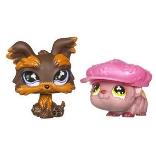 Littlest Pet Shop Pet Pairs Yorki & Guinea Pig