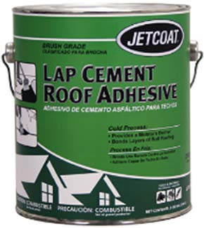 Jetcoat 62731 1 gal Lap Cement Roof Adhesive