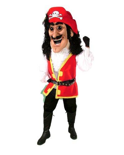 ALINCO Captain Plunder Pirate Mascot Costume