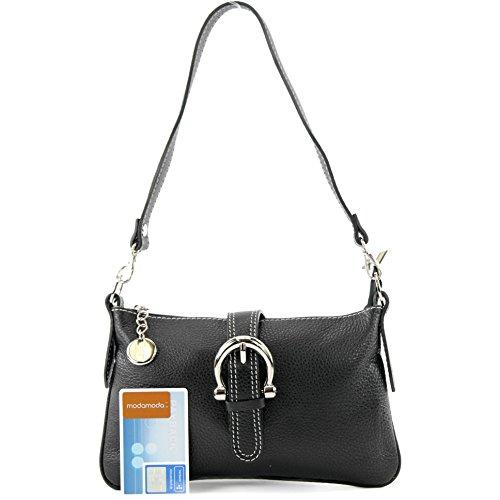 messenger bag Italian real T05 handbag bag shoulder bag Black bag leather tote w1Xqp7xBHX