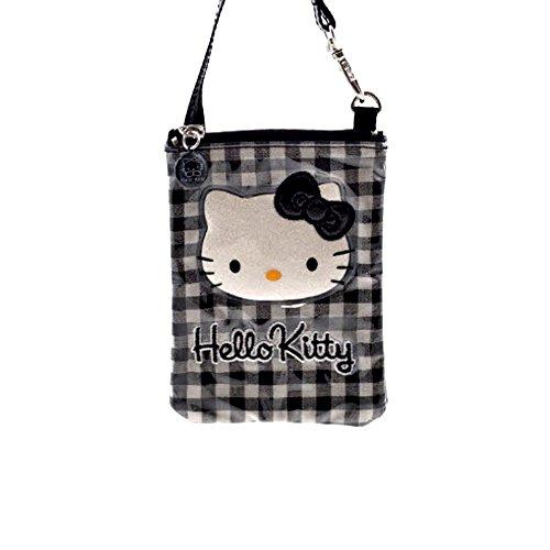 Hello Kitty - Cartera de mano para mujer negro - negro