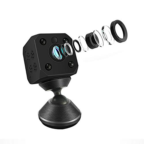 XZYP Mini Surveillance Camera,1080p HD Wide Angle Home Security Camera with Motion Detection and Night Vision,Suit for Home/Office Security and Outdoor,1080P,NoTFCard