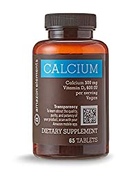 Image of the product Amazon Elements Calcium that is listed on the catalogue brand of Amazon Elements.