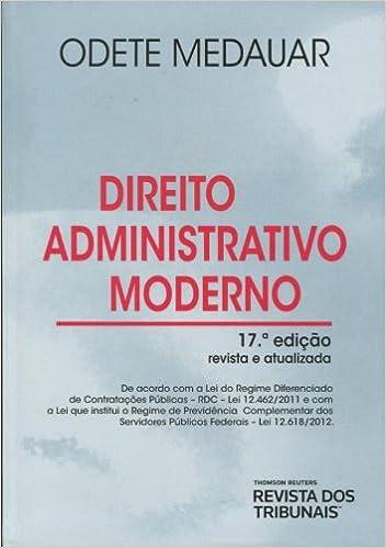 direito administrativo moderno odete medauar
