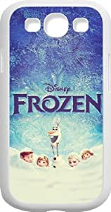 Disney Frozen Samsung Galaxy S3(i9300) Case Cover - Disney Frozen Samsung Galaxy S3 Hard Plastic Case Cover - White