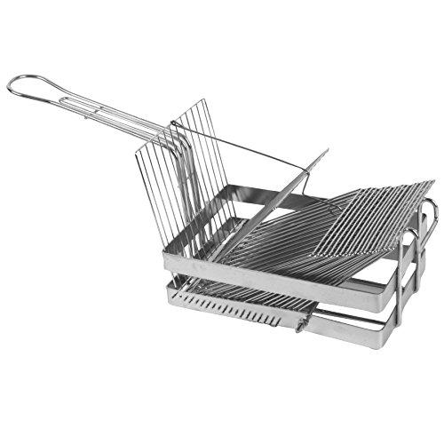 Excellante 18 Slots Heavy Duty Construction Tostada Shell Baskets
