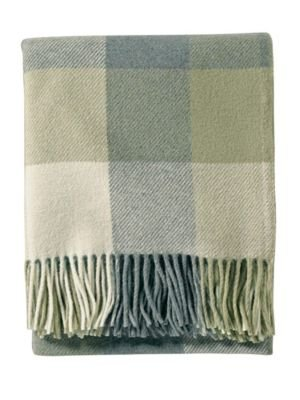 [Pendleton Eco-Wise Washable Wool Fringed Throw Blanket] (Wool Washable Blanket)
