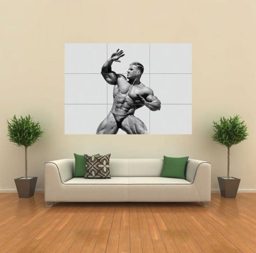 JAY CUTLER BODY BUILDER NEW GIANT PRINT POSTER G149