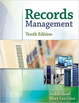 Records Management by Judith Read (2015-01-01)