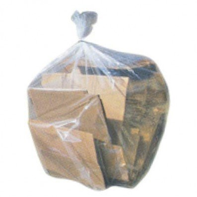 Plasticplace 55-60 gallon Trash Bags │ 2 Mil │ Clear Heavy Duty Garbage Can Liners │ 38