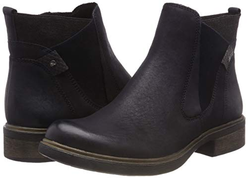 25317 828 21 Blue Women''s anthracite Boots Chelsea Tamaris navy 5qCPwA8