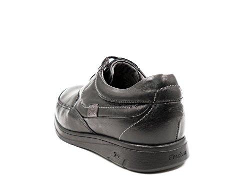 Extraible Profesional F0050 Negro Zapatos 103 Con Hombre Cordones Plantilla Piel Negro Uso Color Fluchos vZ6Rqwx4