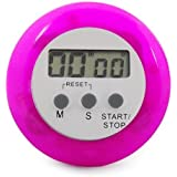 TOOGOO Purple/white Digital Electronic Magnetic Kitchen Timer