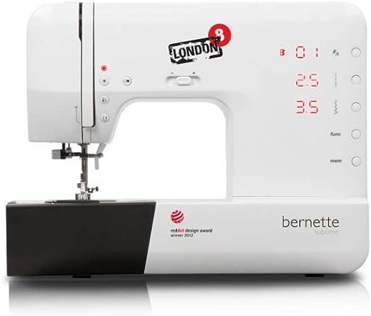 Bernette Sublime London 8 - Máquina de coser (155 patrones de ...