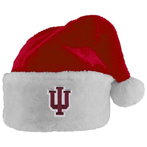 (Indiana University Santa Hat)