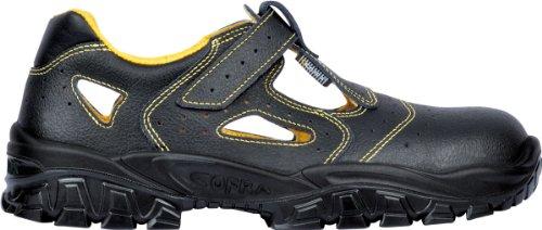 Cofra New Don S1 SRC Paire de Chaussures de sécurité Taille 44 Noir