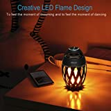 LED Flame Outdoor Table Lamp, DiKaou Torch Table