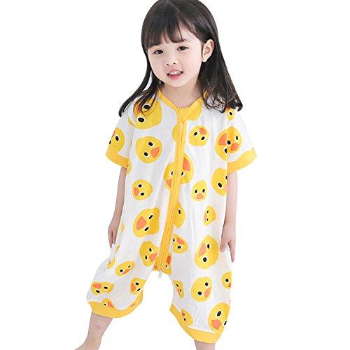 DGAGA Toddler Baby Cotton Sleep Sack Short Sleeve Sleeping Bag Cute Wearable Blanket by DGAGA