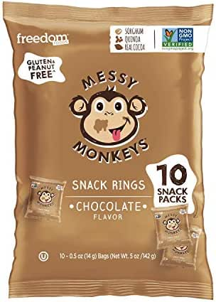 Baby & Toddler Snacks: Messy Monkeys