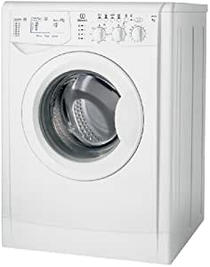 Indesit WIXL 105 Independiente Carga frontal 6kg 1000RPM A+ Color blanco - Lavadora (Independiente, Carga frontal, A+, A, B, Color blanco)