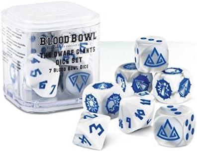 The Dwarf Giants Blood Bowl Dice: Amazon.es: Electrónica