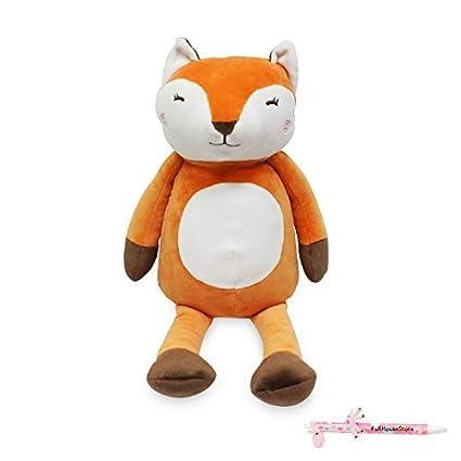 Amazon.com: Miniso Faltering StepsFox, peluche de animales ...