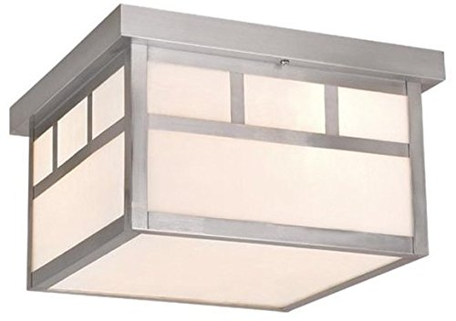 Vaxcel Vaxcel OF14611ST Mission 12″ Ceiling Light,