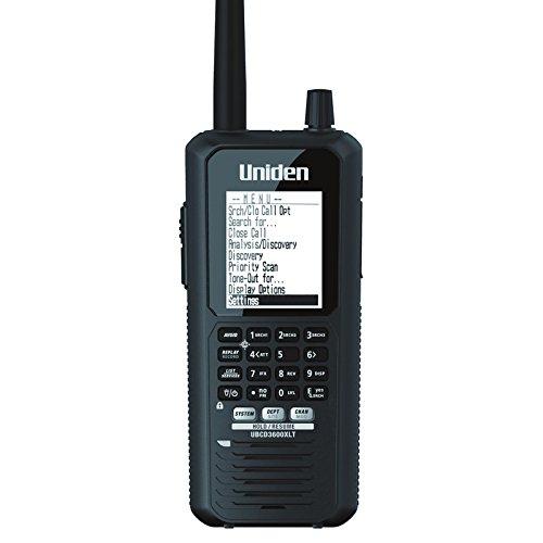 Uniden Bearcat UBCD3600XLT Digital & Analogue Radio Scanner