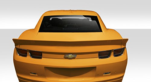 Duraflex ED-YEZ-333 GM-X Wing Trunk Lid Spoiler - 3 Piece Body Kit - Compatible For Chevrolet Camaro 2010-2013 ()
