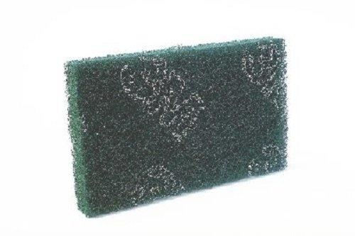 Scotch-Brite 4538 Dickes Pad-Set fü r manuelle Reinigung, Kunstfaser, abriebfest mit Partikeln, grü n 3M