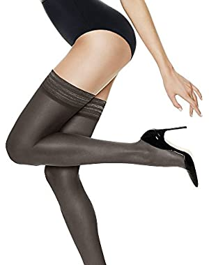Hanes Women's Silk Reflections Ultra Sheer Thigh High (3 Pack)