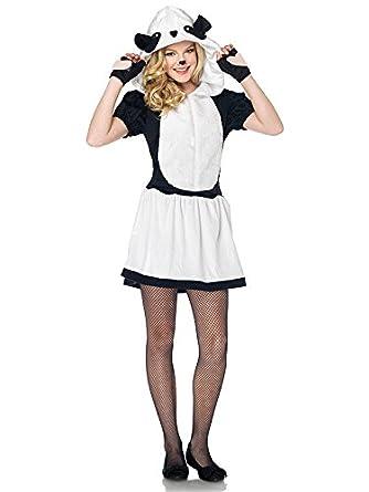Disfraz de Oso Panda de Teen Negro Blanco: Amazon.es: Juguetes y ...