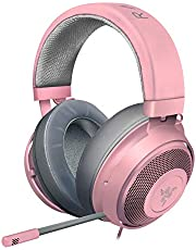 Razer Kraken Competitive Gaming Headset - Noise Cancelling Microphone - Pink
