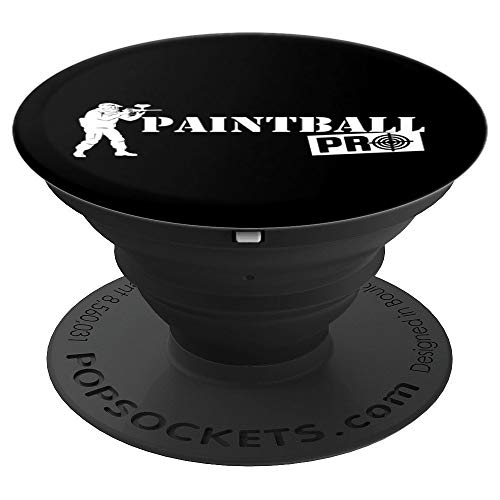 Paintball Pro Art | Pro Paintball Shooters Design Gift - PopSockets Grip and Stand for Phones and Tablets