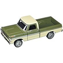 Motor Max 1:24 W/B American Classics 1969 Ford F-100 Pickup 2-Tone Diecast Vehicle, Green