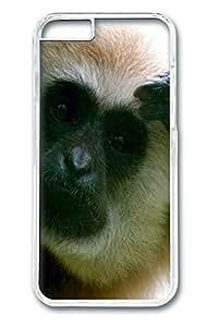 Animals 023 Polycarbonate Hard Case Cover for iphone 6 plus Transparent