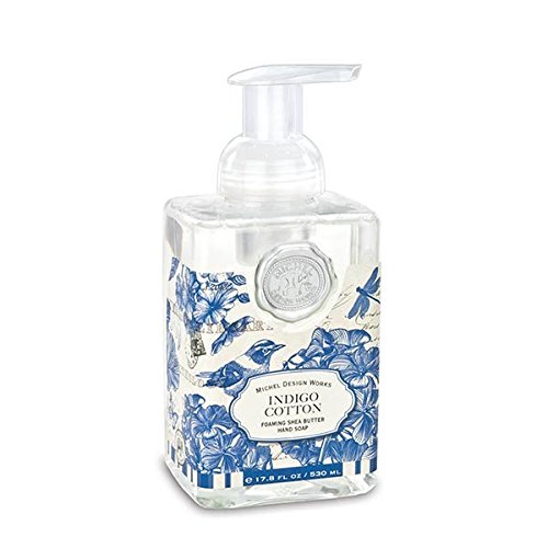 Michel Design Works Foaming Hand Soap, Indigo Cotton